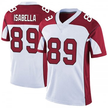 Men's Andy Isabella Arizona Cardinals Limited White Vapor Untouchable Jersey