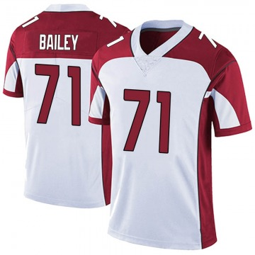Men's Sterling Bailey Arizona Cardinals Limited White Vapor Untouchable Jersey