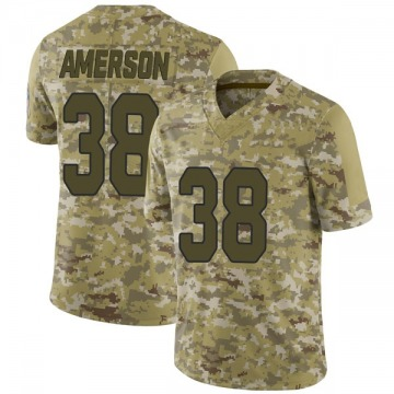 Youth David Amerson Arizona Cardinals Limited Camo 2018 Salute to Service Jersey