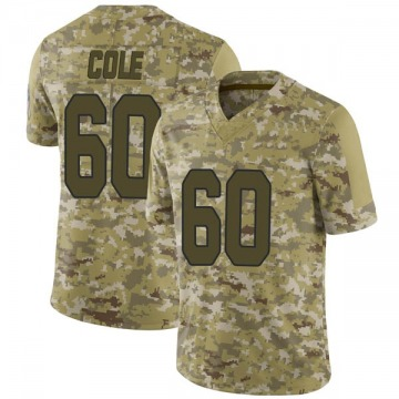 Youth Tariq Cole Arizona Cardinals Limited Camo 2018 Salute to Service Jersey